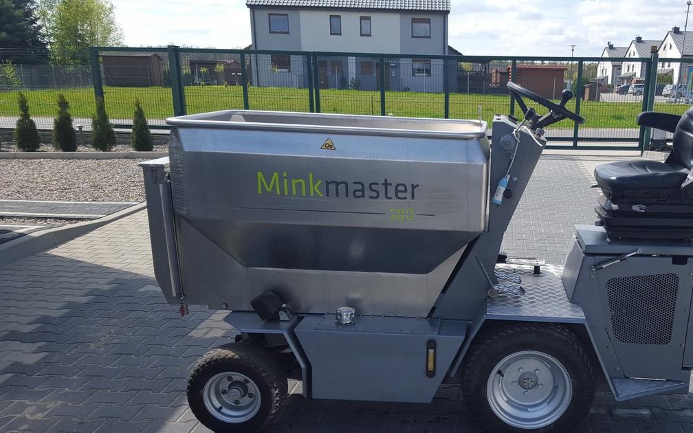 Solgt! Mink Master 580