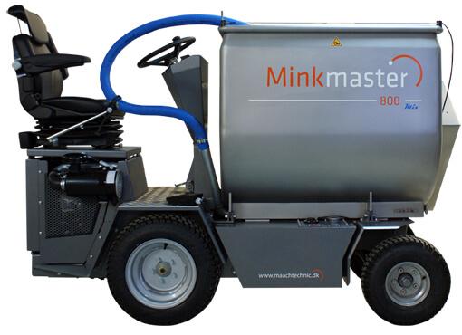 Mink Master 800mix fodermaskine til mink- og pelsdyravlere